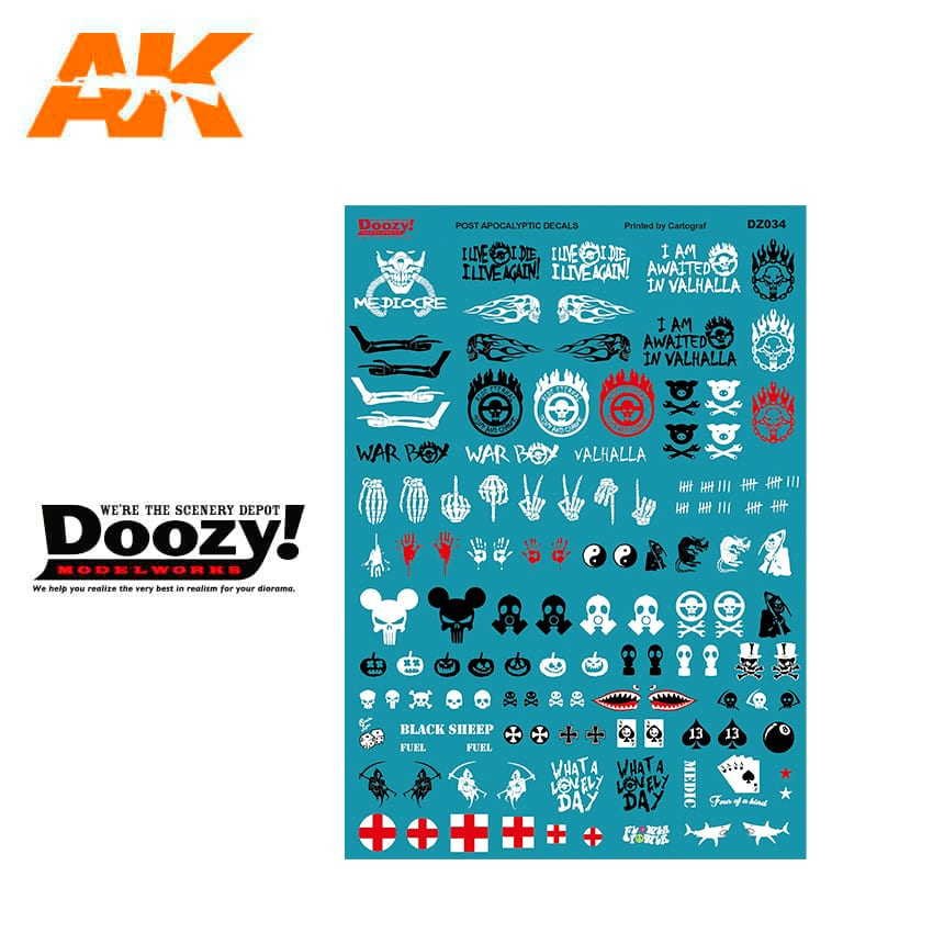 Doozy Mad Max Decals