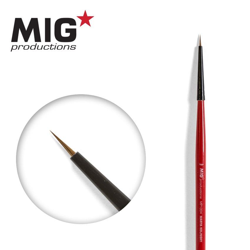 MIG Brush Round 10/0 (Marta Kolisnky)
