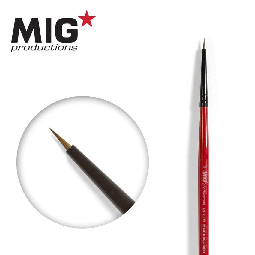 MIG Brush Round 9/0 (Marta Kolisnky)