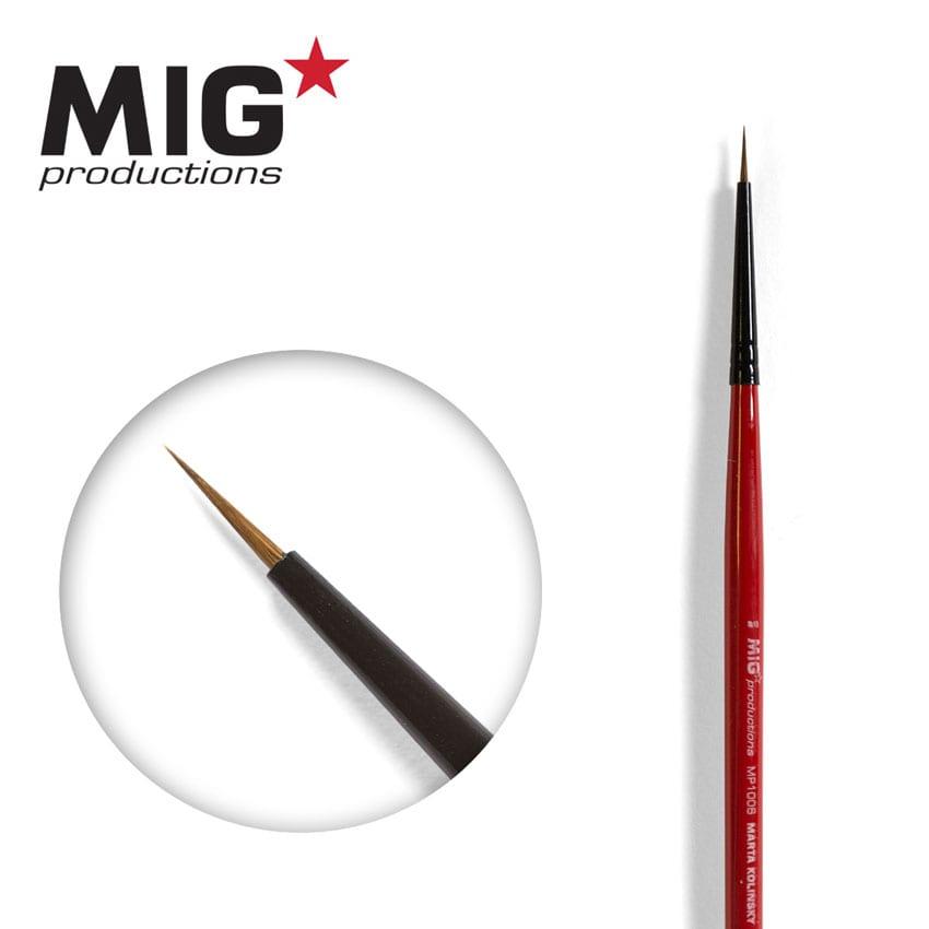 MIG Brush Round 8/0 (Marta Kolisnky)