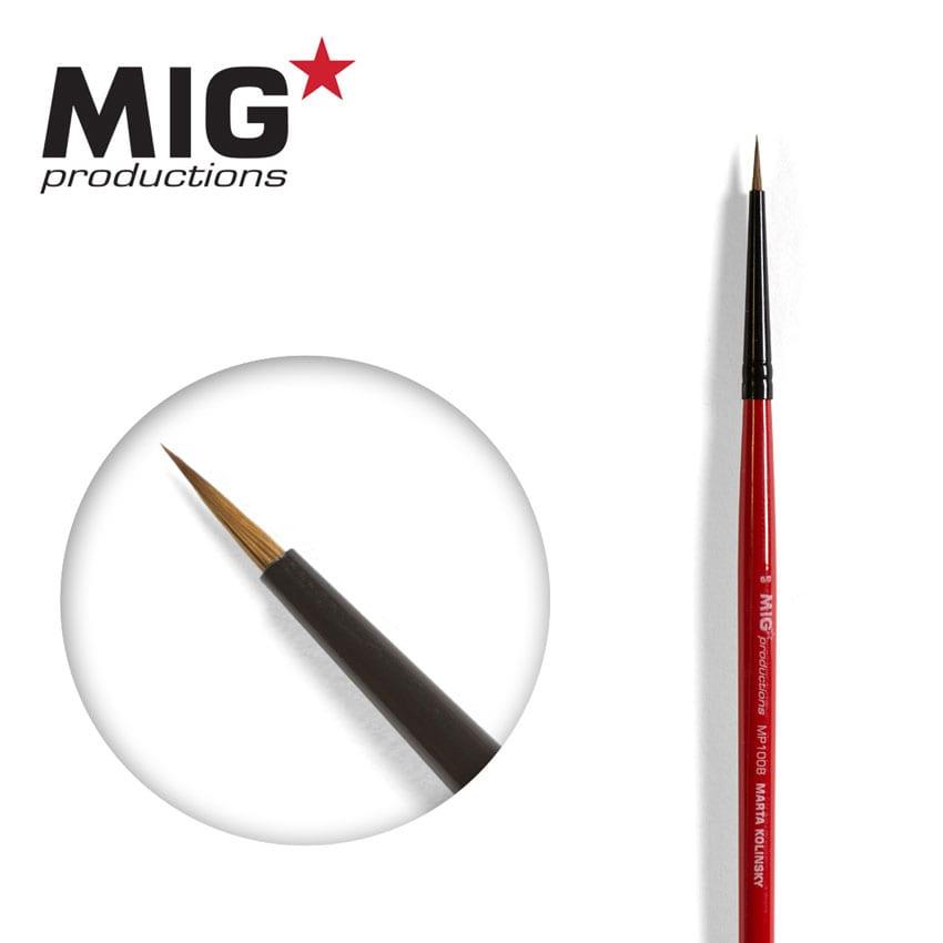 MIG Brush Round 6/0 (Marta Kolisnky)