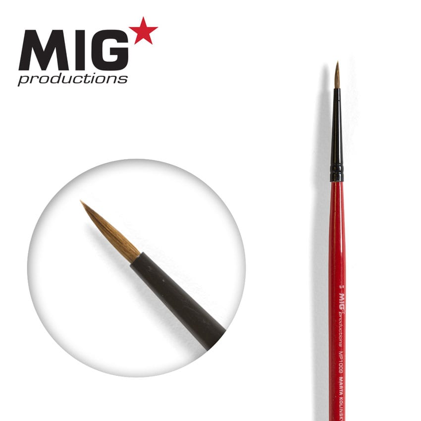 MIG Brush Round 5/0 (Marta Kolisnky)