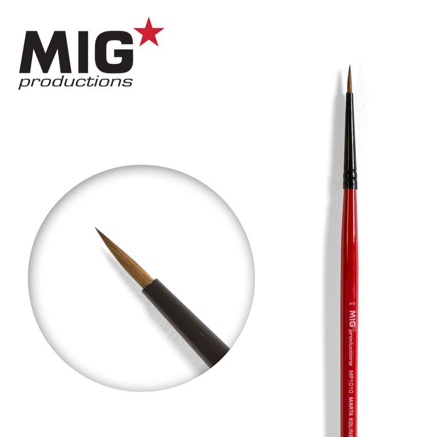 MIG Brush Round 4/0 (Marta Kolisnky)