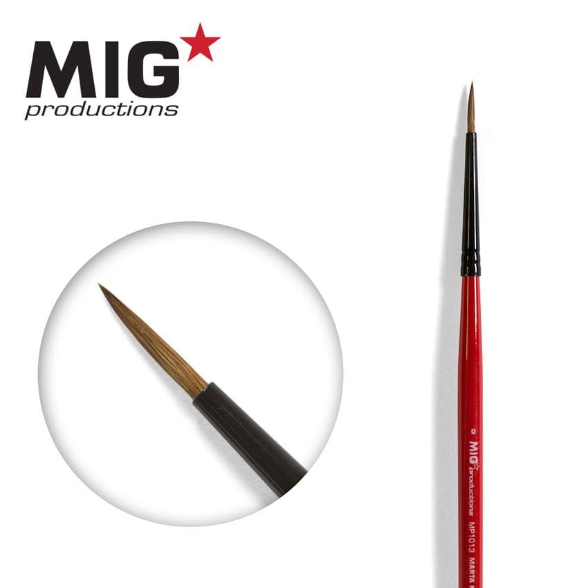 MIG Brush Round 0 (Marta Kolisnky)