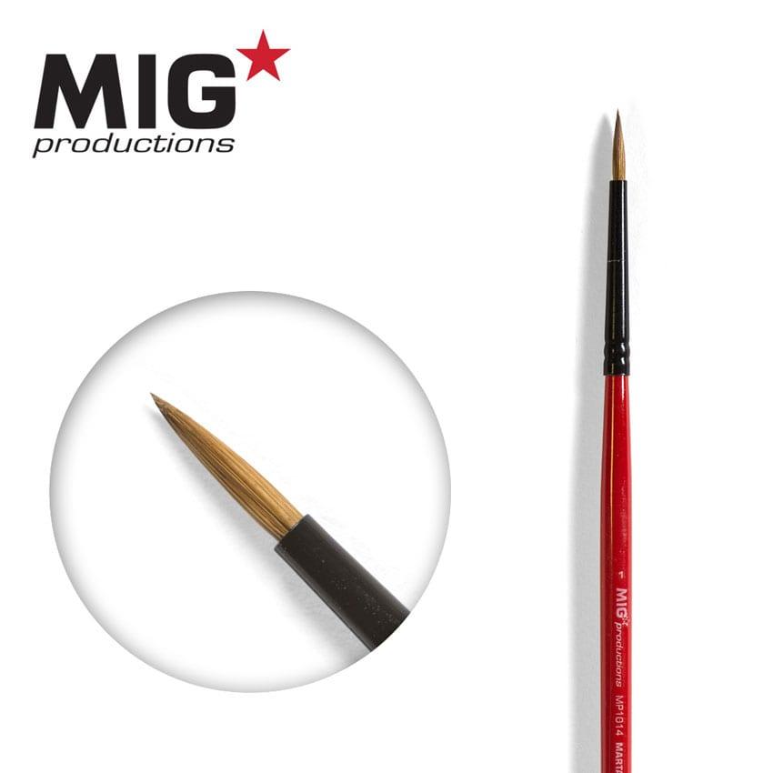 MIG Brush Round 1 (Marta Kolinsky)