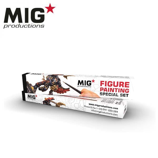 MIG Figure Painting Special Set (brushes MP1005, MP1009 and MP1013)