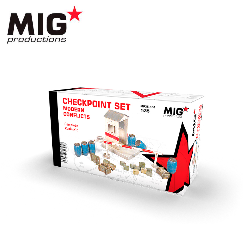 MIG 1/35 Checkpoint Set - Modern Conflicts