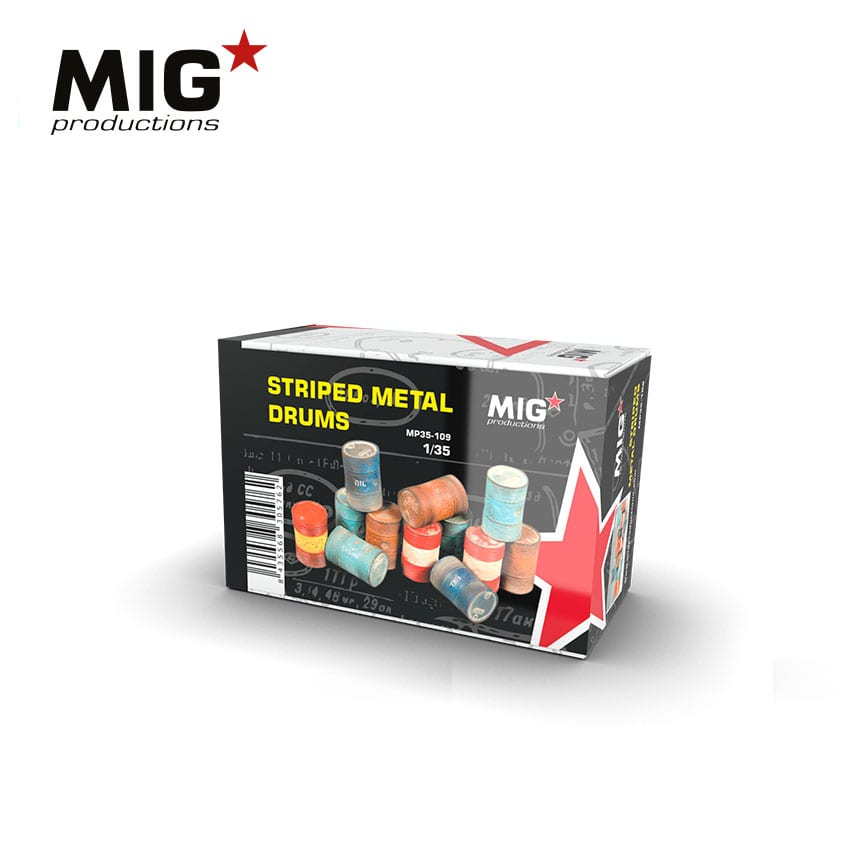 MIG Striped Metal Drums