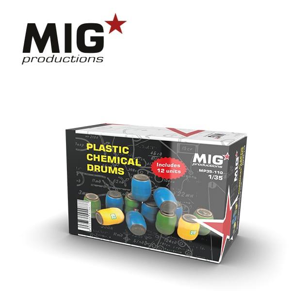 MIG Plastic Chemical Drum