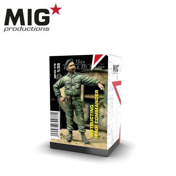 MIG Instructing Iraqi Commander