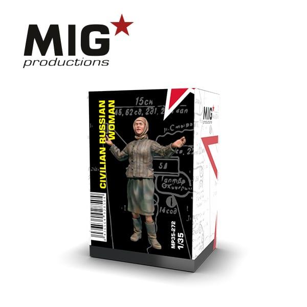 MIG Civilian Russian Woman