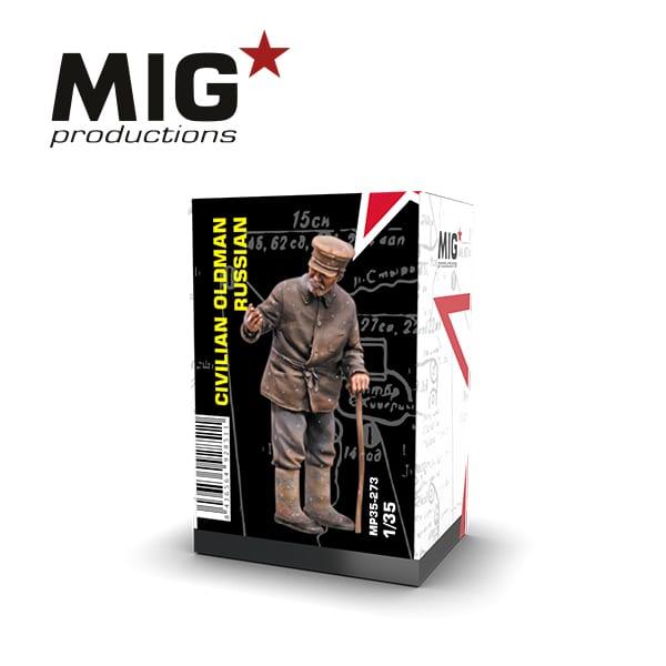 MIG Civilian Old Man Russian