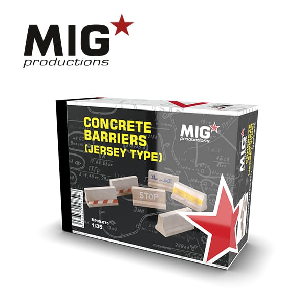 MIG Concrete Barriers (Jersey Type)