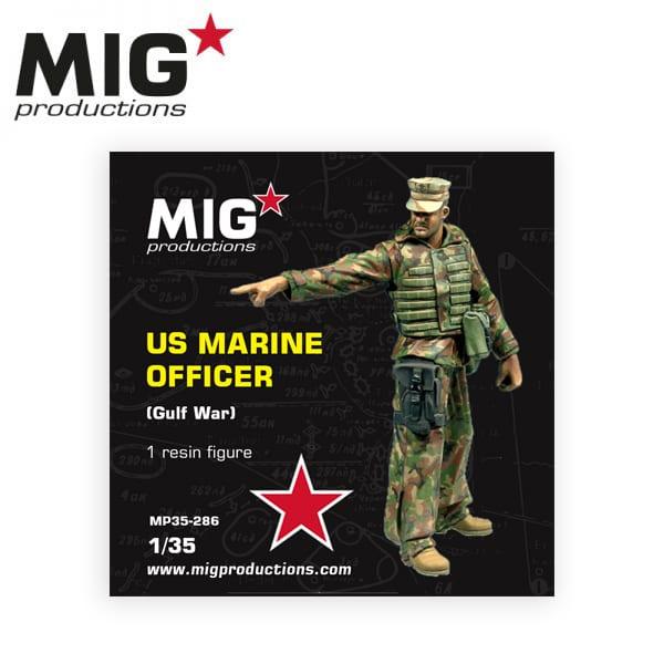 MIG U.S. Marine Officier (Gulf War)