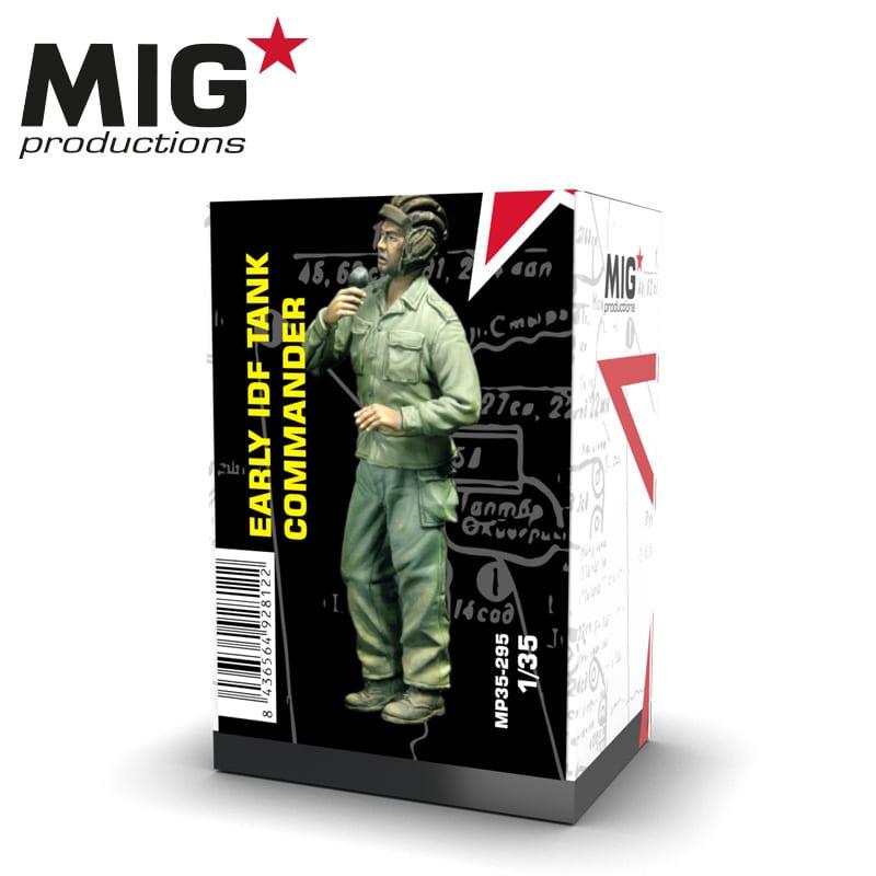 MIG Early Idf Tank Commander