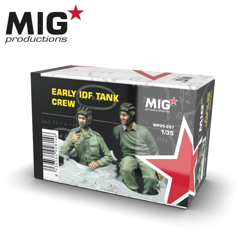 MIG Early Idf Tank Crew