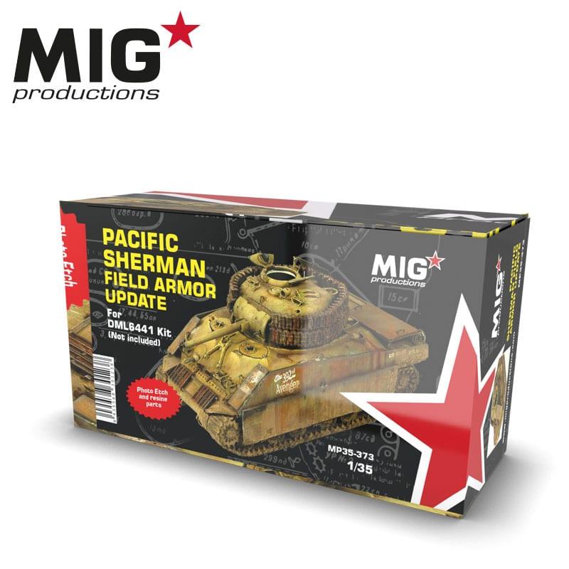 MIG Pacific Sherman Field Armor Update