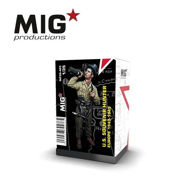 MIG U.S. Souvenir Hunter - Europe 1943-1945