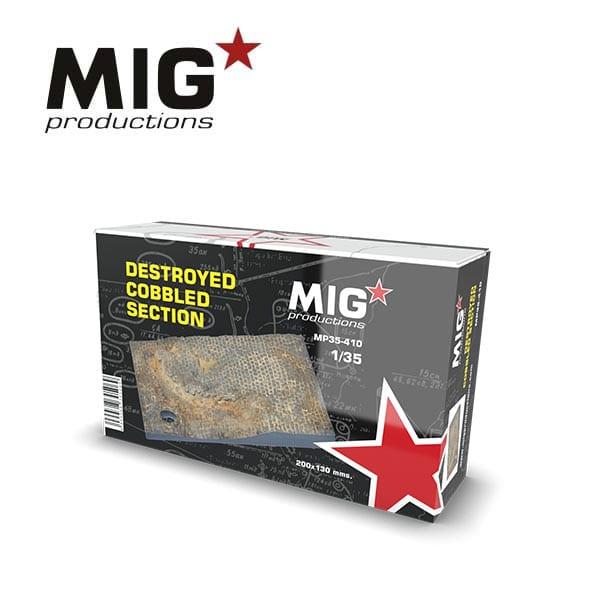 MIG Destroyed Cobbled Section