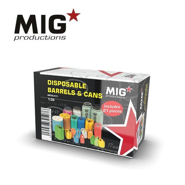 MIG Disposable Barrels & Cans