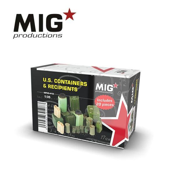 MIG U.S. Containers & Recipients