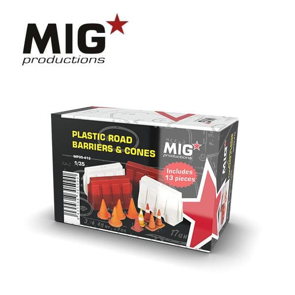 MIG Plastic Road Barriers & Cones