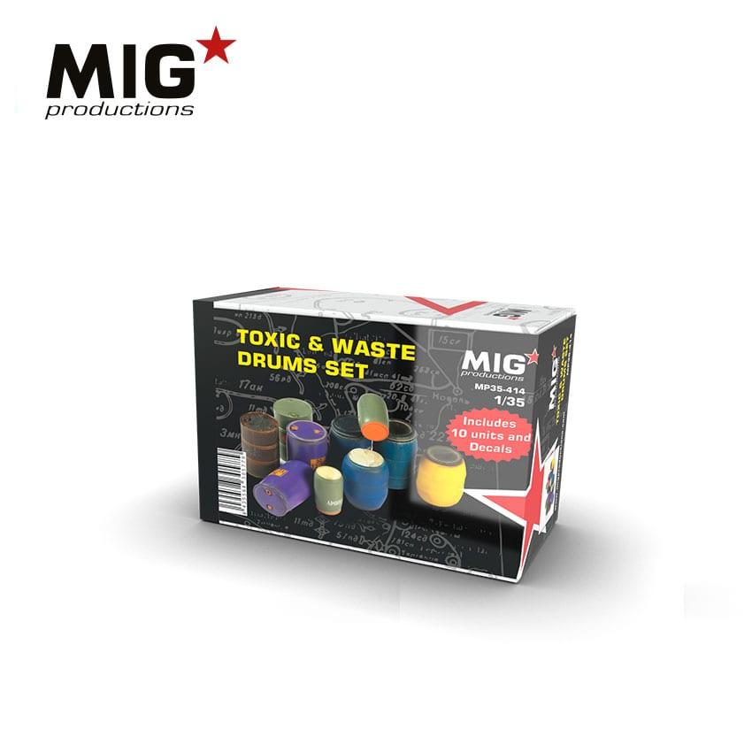 MIG Toxic & Waste Drums Set
