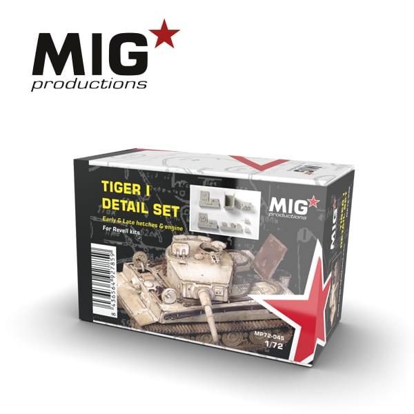 MIG Tiger I Detail Set