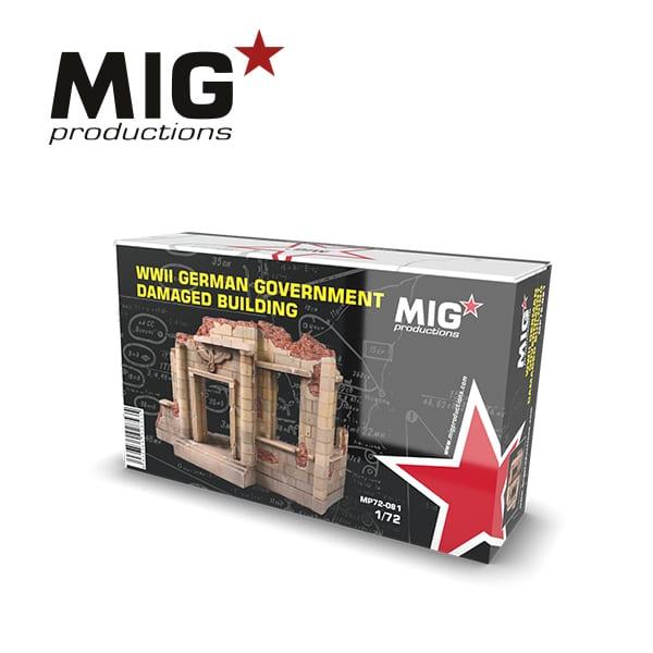 MIG German Damaged Building