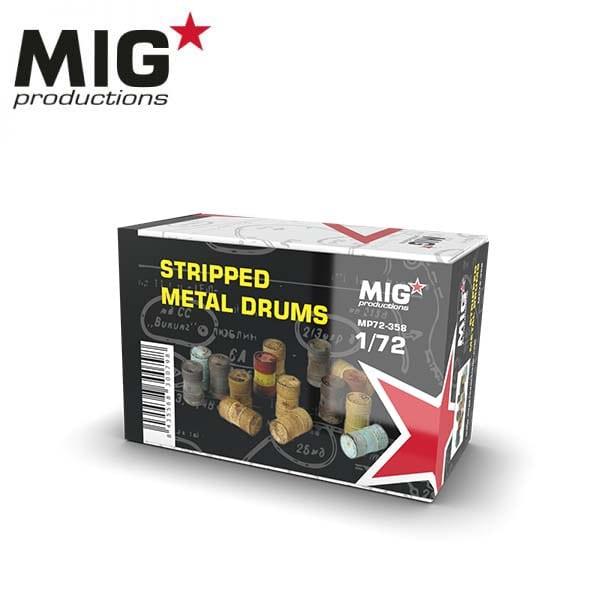 MIG Stipped Metal Drums