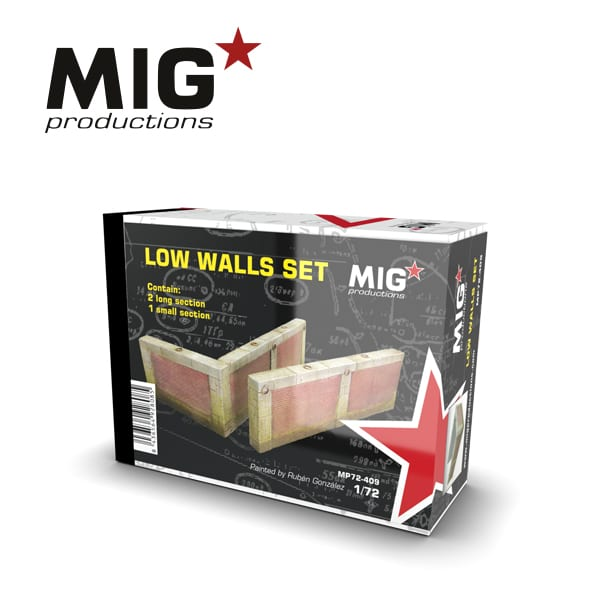 MIG Low Walls Set