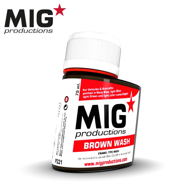 MIG Brown Wash 75ml