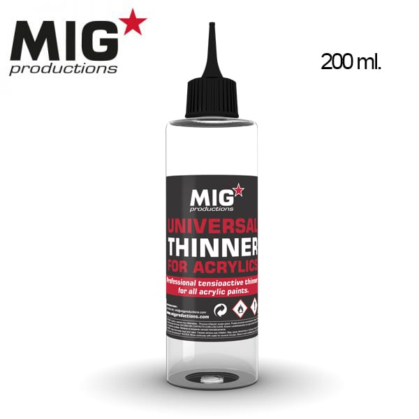 MIG Universal Thinner for Acrylics 200ml