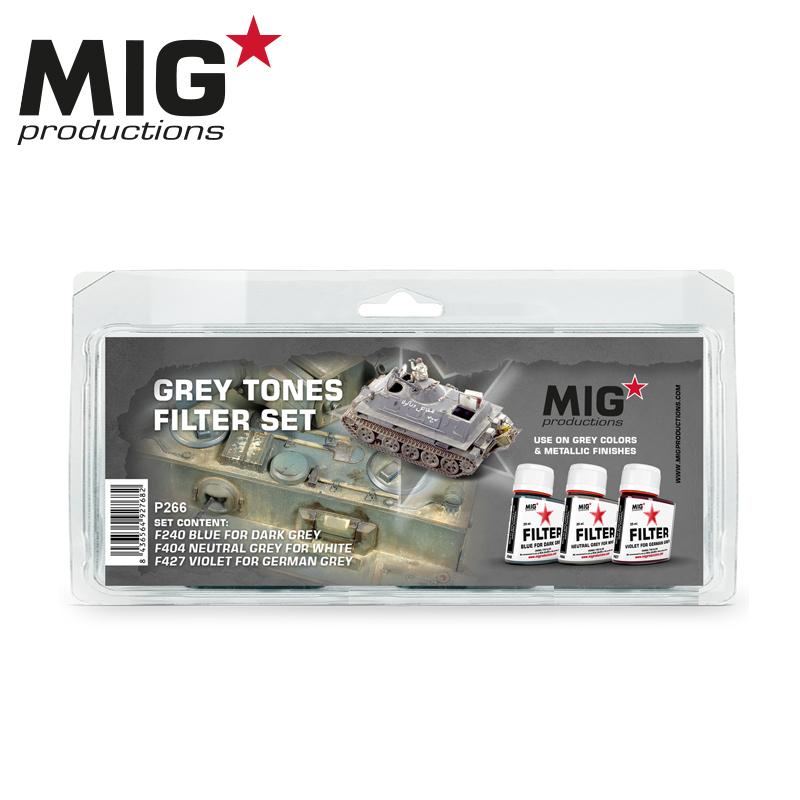 MIG Grey Tones Filter Set