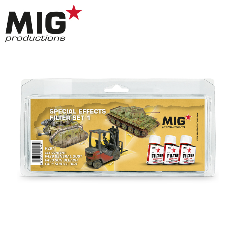 MIG Special Effects Filter Set 1