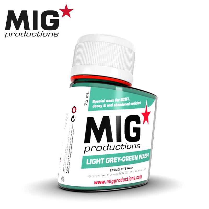 MIG Light Grey-Green Wash 75ml