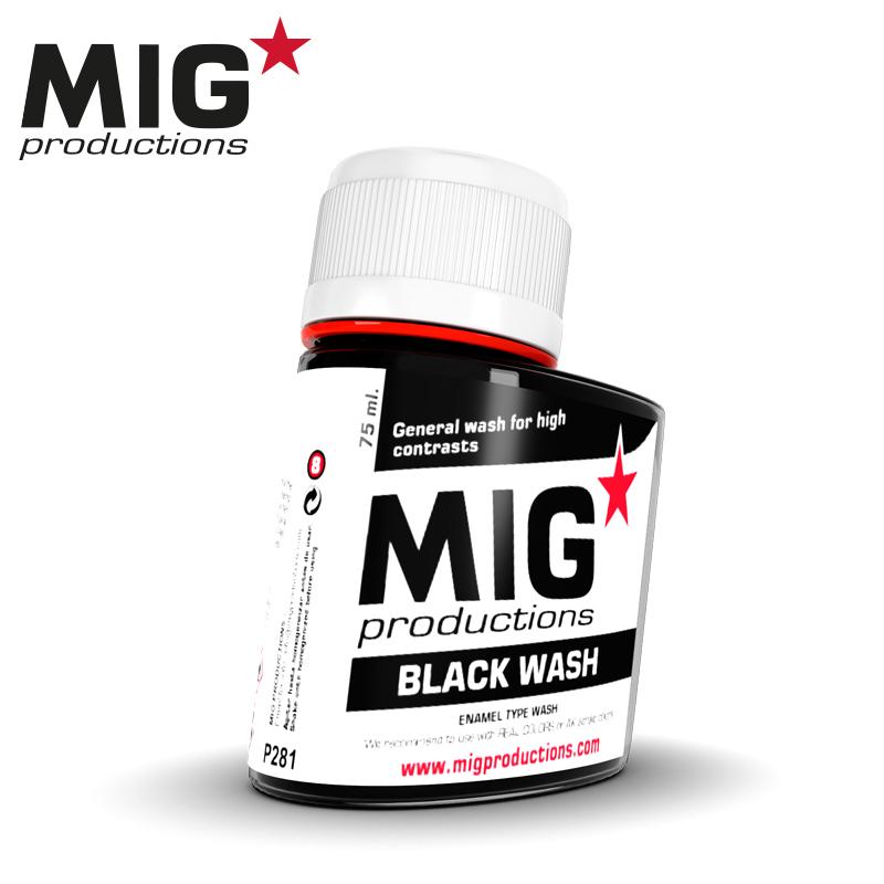 MIG Black Wash 75ml