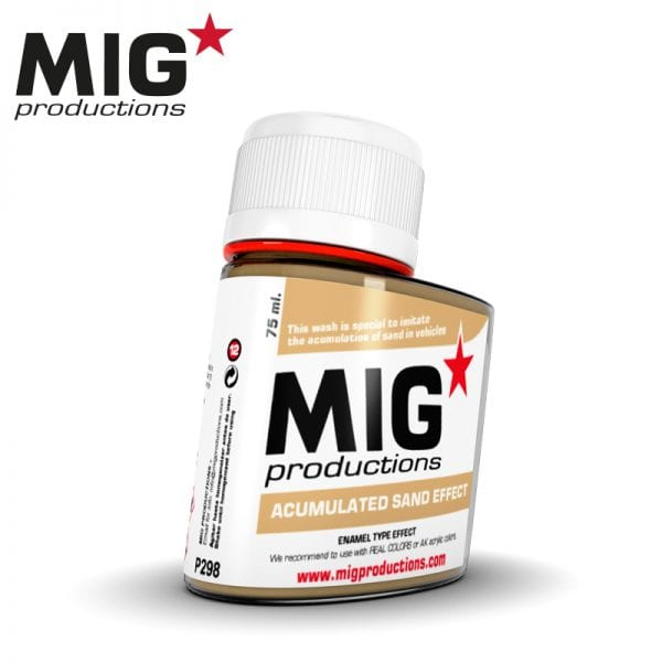 MIG Acumulated Sand Effect 75ml
