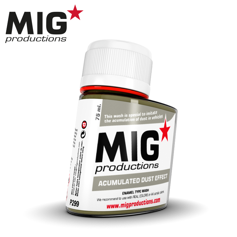 MIG Acumulated Dust Effect 75ml