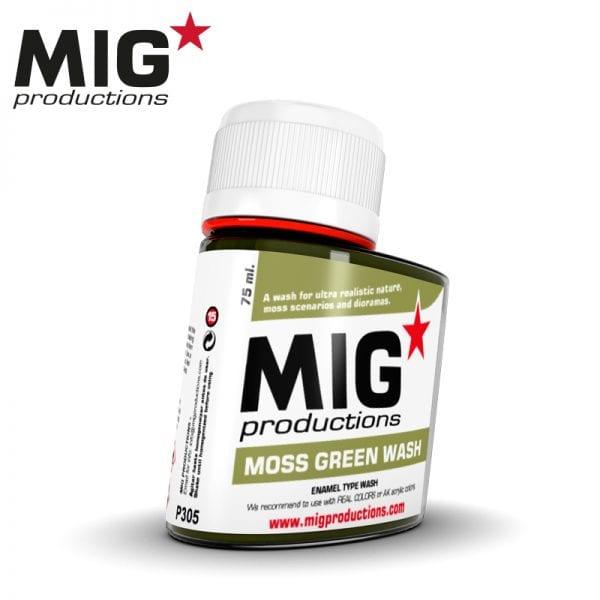MIG Moss Green Wash 75ml
