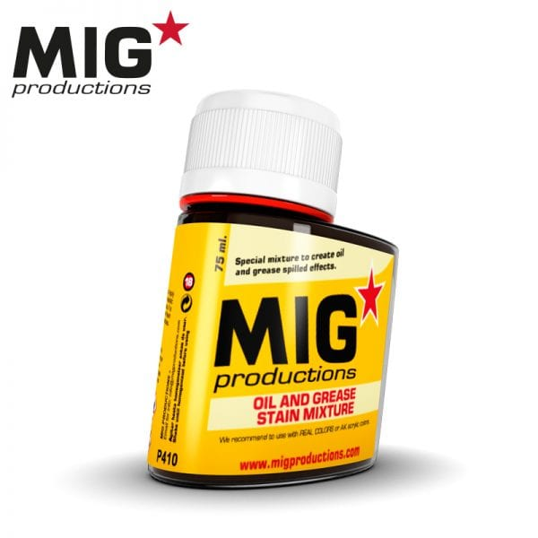 MIG Oil and Grease stain Mixture 75ml