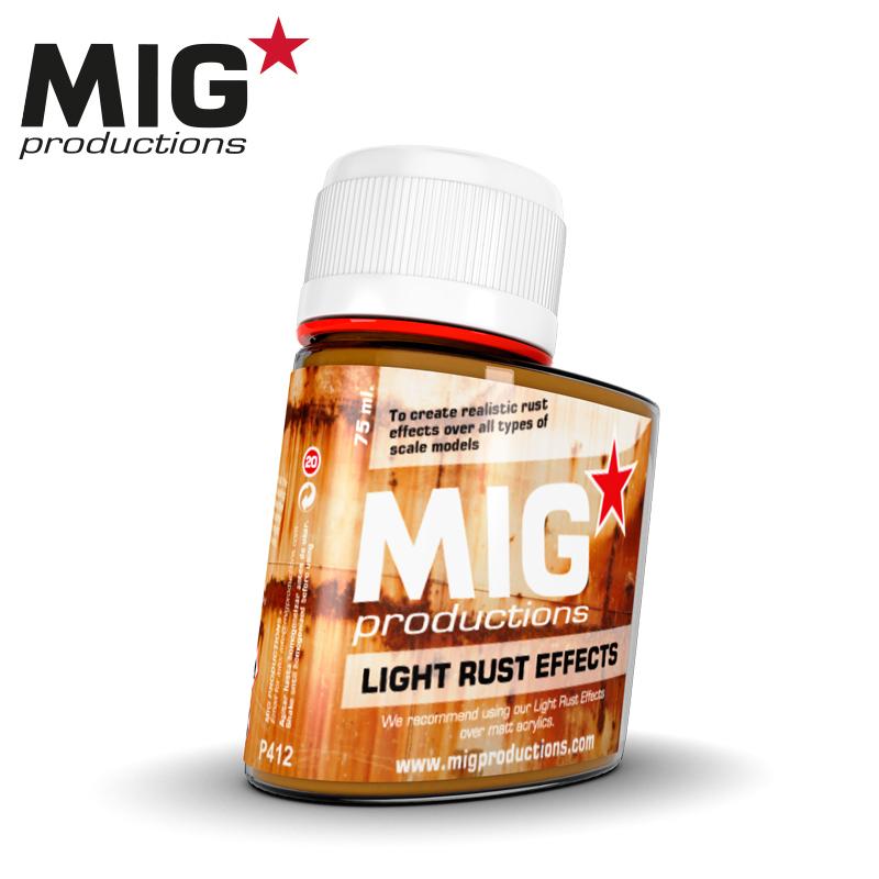 MIG Light Rust Effects 75ml
