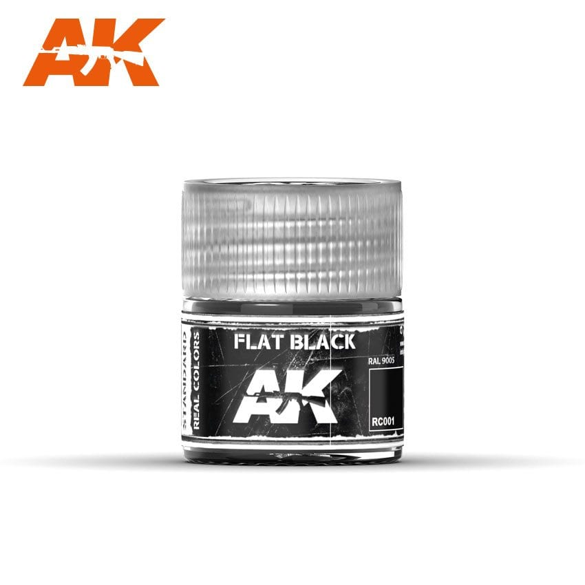AK Interactive Flat Black 10ml