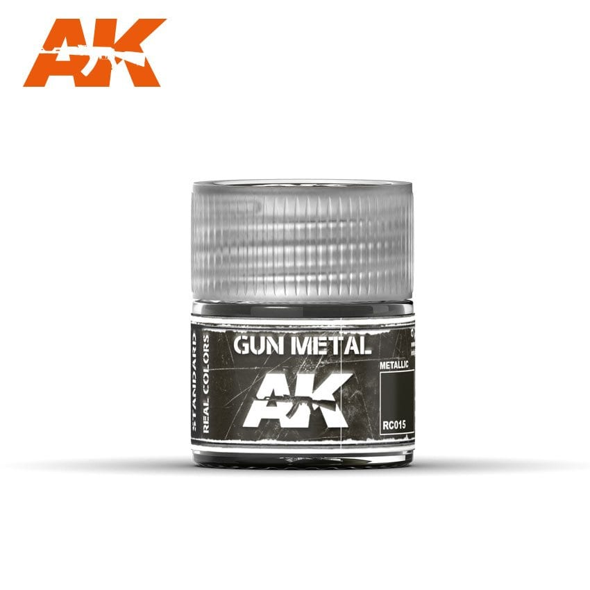 AK Interactive Gun Metal 10ml