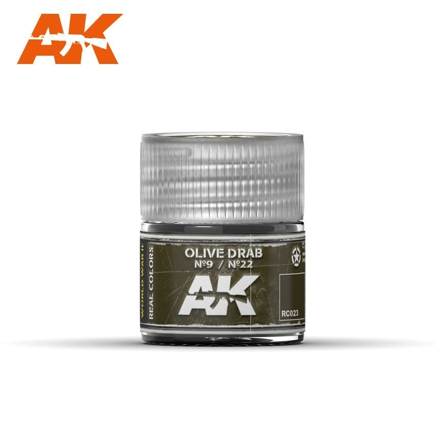 AK Interactive Olive Drab No9/No22 10ml