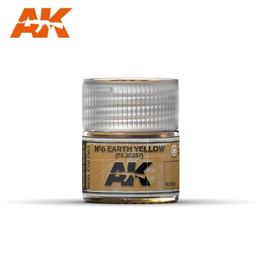AK Interactive No6 Earth Yellow FS 30257 10ml
