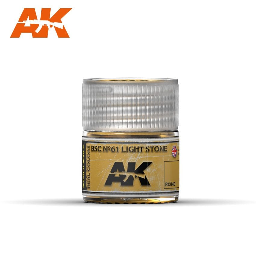 AK Interactive BSC No61 Light Stone 10ml