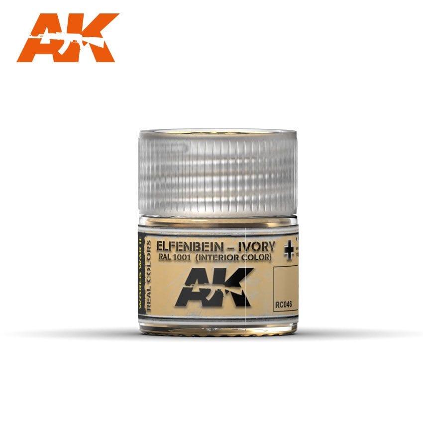 AK Interactive Elfenbein-Ivory RAL 1001 (Interior Color) 10ml