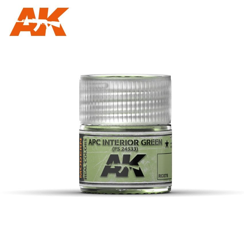 AK Interactive APC Interior Green FS24533  10ml