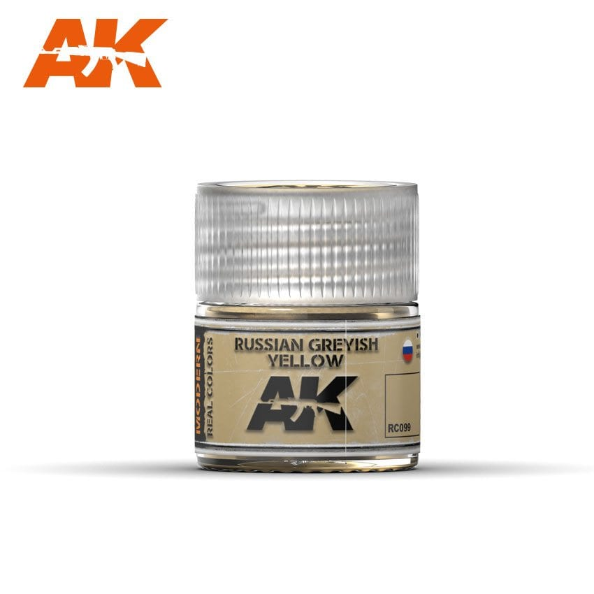 AK Interactive Russian Greyish Yellow 10ml